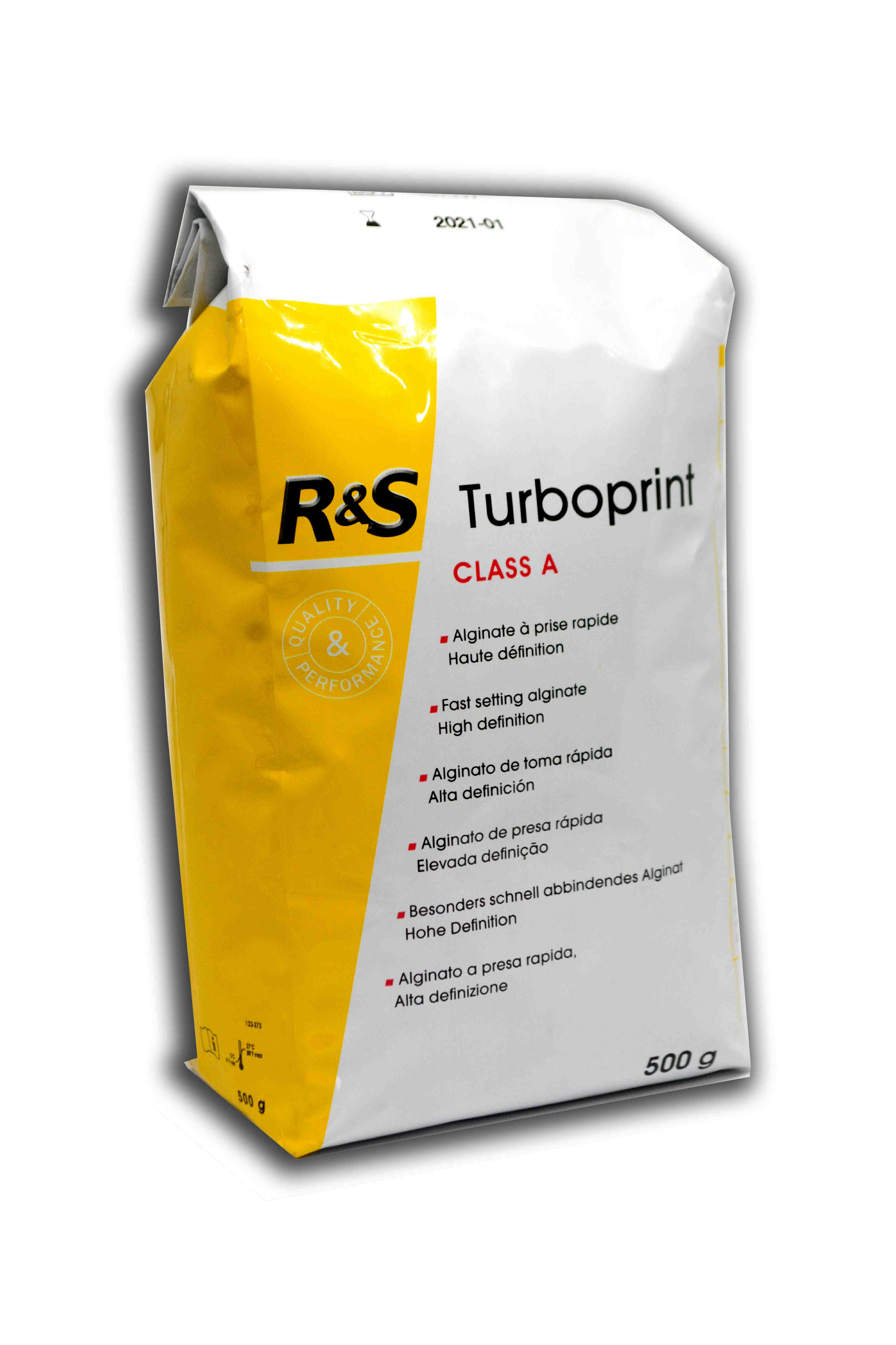 R&S Alginate Turboprint Class A Fast Setting